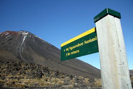 tongariro national park: Volcano - Tongariro National Park, New Zealand