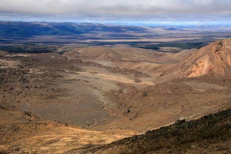 tongariro: Parque Nacional de Tongariro, Nueva Zelanda  Foto de archivo