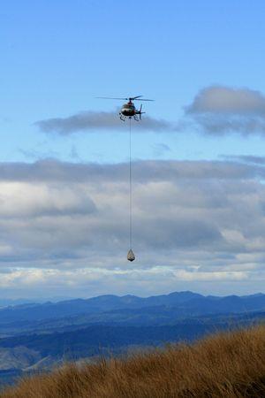 tongariro: Helic�pteros - Parque Nacional de Tongariro, Nueva Zelanda