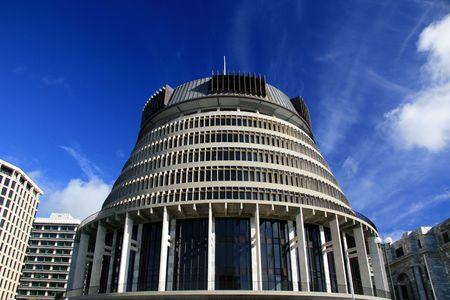 wellington: The Beehive, Wellington, New Zealand