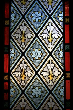 Stained Glass Window - Old St Pauls, Wellington, New Zealand