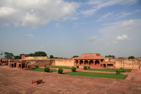 fatehpur: Fatehpur Sikri, Agra, India Stock Photo