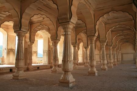 ámbar: Fort �mbar - un sitio hist�rico en Jaipur, India