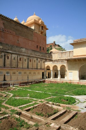 Amber Fort - a historic site in Jaipur, India photo