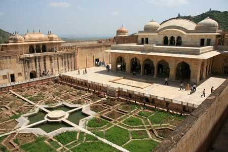 historic site: Amber Fort - a historic site in Jaipur, India