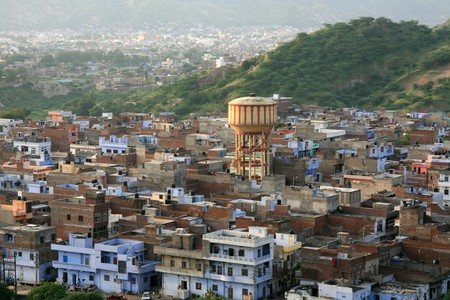 Jaipur City in Rajasthan, India Stock Photo - 4250009