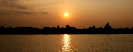howrah: Belur Math, A Historic Site in Calcutta   Kolkata, India