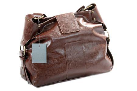 High Class Womens Leather Hand Bag / Purse Stock Photo - 5333858
