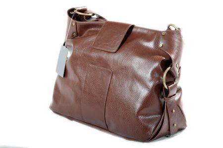 High Class Womens Leather Hand Bag / Purse Stock Photo - 5333912