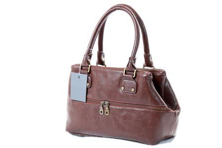 High Class Womens Leather Hand Bag / Purse Stock Photo - 5387925