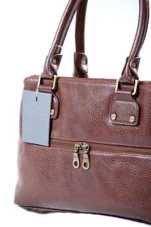 High Class Womens Leather Hand Bag / Purse Stock Photo - 5333865