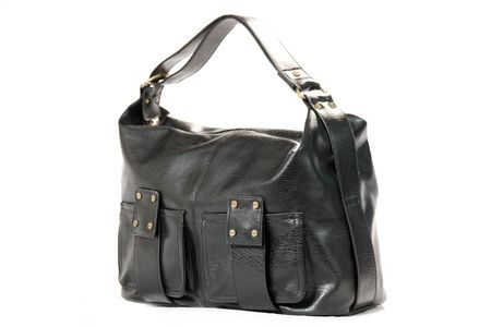 High Class Womens Leather Hand Bag / Purse Stock Photo - 5387913
