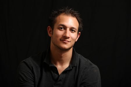 italian man: Good Looking Handsome Young Man in a Studio Setting  Stock Photo