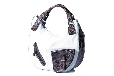 High Class Womens Leather Hand Bag  Purse photo