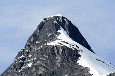 Glacier Bay Fjord - the icy waters of Alaska, USA photo