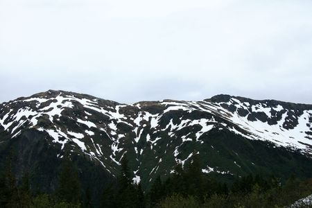 Mt Roberts in the capital city Juneau of Alaska, USA photo