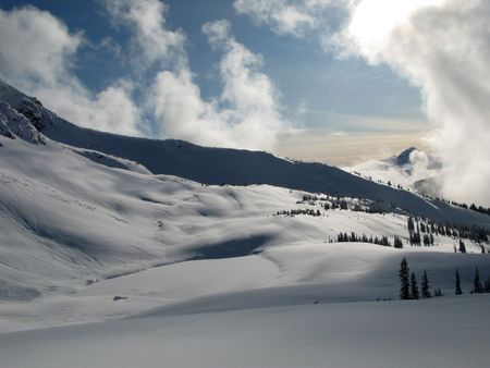 bc: Whistler  Blackcomb Intrawest Ski Resort, Blackcomb Mountain - Whister, BC, Canada