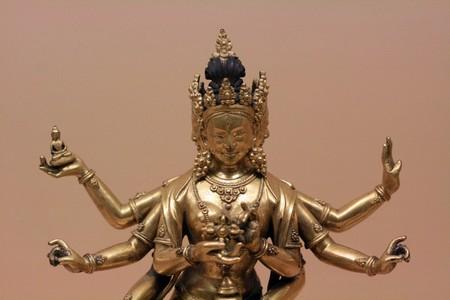 indian artifacts: God - Chhatrapati Shivaji Maharaj Vastu Sangrahalaya Museum, Mumbai, India