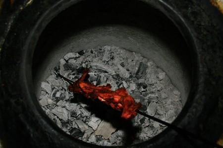 Tandoori Chicken freshly made in tradional way in Northern India Stock Photo - 7133421