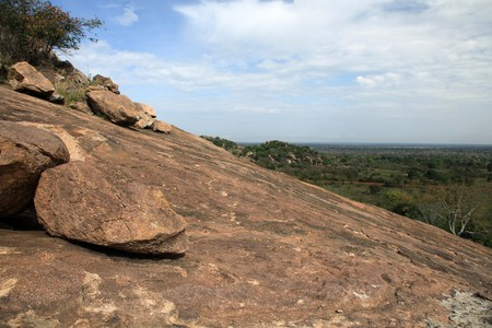 Abela Rock in Katakwi, Uganda - The Pearl of Africa photo