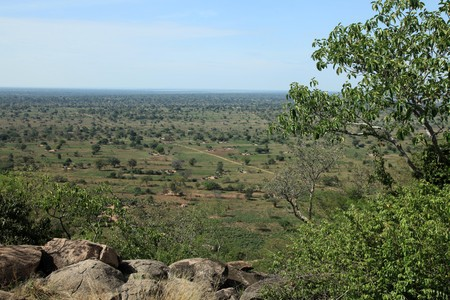 Rural Landscape View From Abela Rock in Katakwi, Uganda - The Pearl of Africa