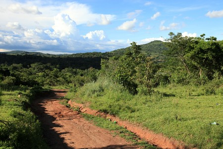 Remote Untouched Area of Western Uganda, Africa Stock Photo - 7161068