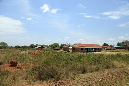 Small Rural Village in Uganda - The Pearl of Africa Stock Photo - 7454474