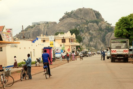 SorotiTown, Uganda - The Pearl of Africa Stock Photo