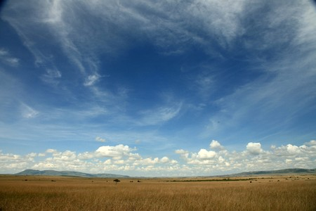 The Great Rift Valley in Kenya, Africa Stock Photo