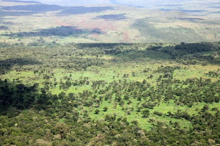 The Great Rift Valley in Kenya, Africa Stock Photo - 7540326