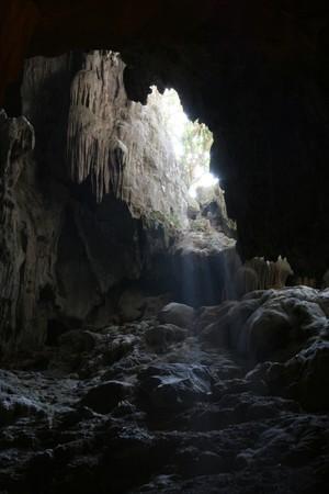 cueva: Cuevas en la Bah�a de Halong, Vietnam  Foto de archivo