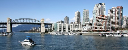 The City of Vancouver, BC, Canada Stock Photo