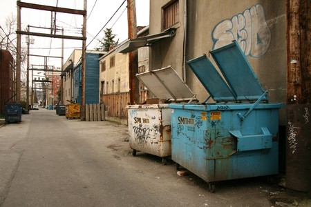 Back Street Alleys in The City of Vancouver, BC, Canada photo