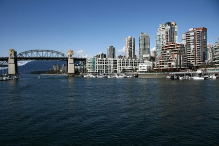 The City of Vancouver, BC, Canada Stock Photo - 7886065