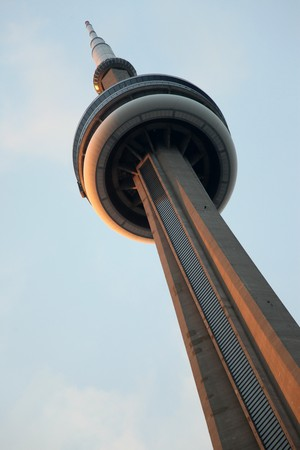 newage: The CN Tower in Toronto, Ontario, Canada Editorial