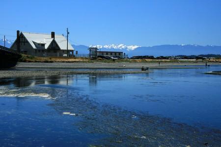 Coastline of Victoria on Vancouver Island, BC, Canada photo