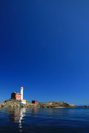 Fisgard Lighthouse in Victoria, Vancouver Island - BC, Canada photo
