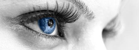 Blue Eye - Beautiful, Feminine photo