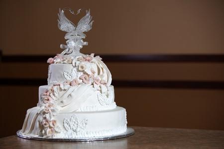 Wedding Cake - Luxury , Expensive Design Stock Photo