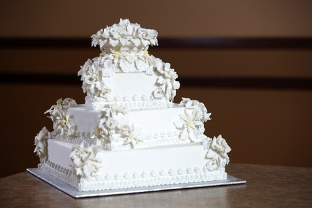 Wedding Cake - Luxury , Expensive Design Stock Photo - 9234943