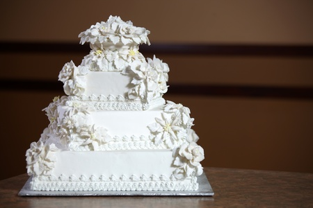 Wedding Cake - Luxury , Expensive Design Stock Photo