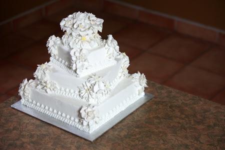 Wedding Cake - Luxury , Expensive Design Stock Photo - 9234968