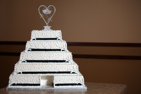 Wedding Cake - Luxury , Expensive Design Stock Photo - 9234955
