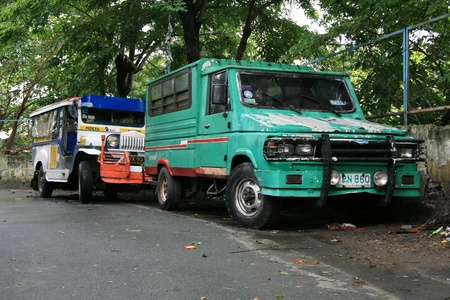 Slums in Manila the Capital of Philippines Stock Photo - 12676971