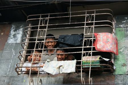 slums: Slums in Manila the Capital of Philippines