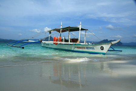 palawan: The area of El Nido on Palawan Island in Philippines Editorial