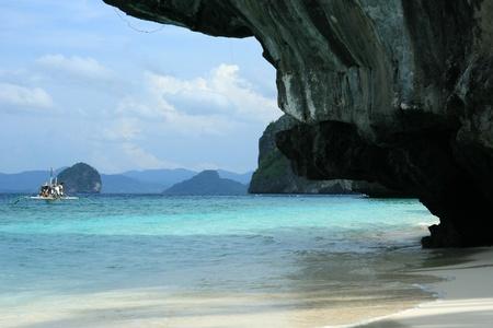 palawan: The area of El Nido on Palawan Island in Philippines Stock Photo