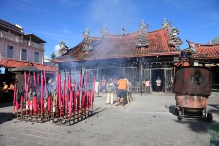 Kuan Yin (Goddess of Mercy) Temple in Georgetown - Penang, Malaysia