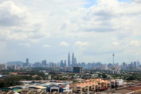 klcc: Kuala Lumpur City Skyline, Malaysia