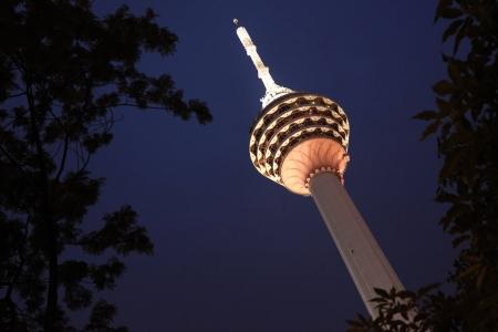 Menara KL Tower in Kuala Lumpur, Malaysia